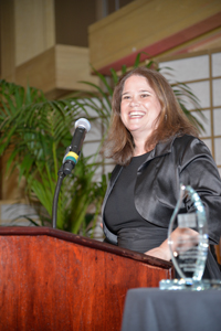 Event co-chair Carrie Newton