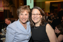 Congresswoman Jan Schakowsky with 2014 Honoree and Reproductive Rights Project Director Lorie Chaiten